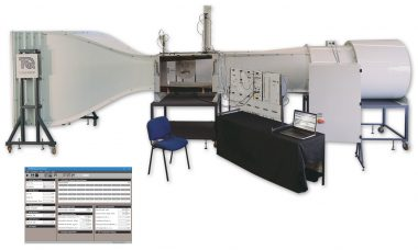 Subsonic Wind Tunnel AF1600S | Aerodynamics | TecQuipment