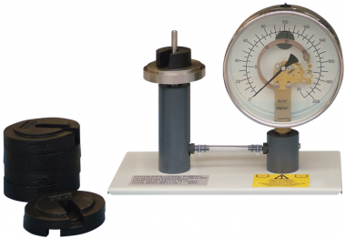 Calibration Of A Pressure Gauge Pressure Measurement